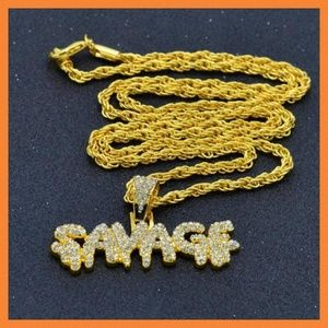 Other - Hip Hop Savage Fashion Pendant w/Chain
